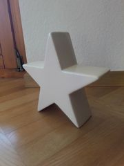 Stern aus Porzellan