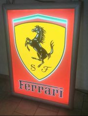 Ferrari Leuchtschild Leuchtreklame