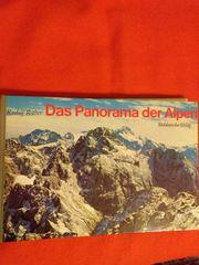 Das Panorama der Alpen