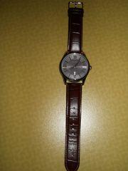 BOSS - Armbanduhr mit Lederband