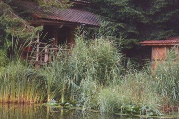 Ferienhaus Blockhütte Urlaub mit Hund