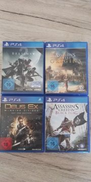 4 PS4 Spiele