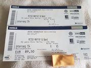 Peter Maffay Tickets Nürnberg Rollstuhlplatz