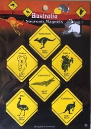 Down Under-6 Fridge Magnete Australia