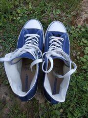 Neuwertige Converse Chucks Blau Männer