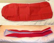 AQUAPUR® Bügeltischbezug mit Kordelzug Rot