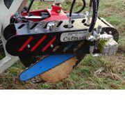 Hydraulisch angetriebene Motorsäge Kettensäge harvester