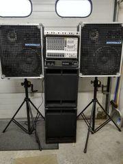 Musikanlage PA Anlage mieten