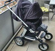 Kinderwagen mit Sportsitz Wanne und