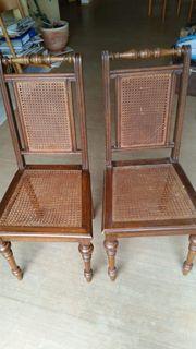 Antiquität Stuhl aus der Gründerzeit