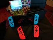Nintendo Switch mit 2 Spielen