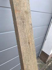Holzdiele Holzbohle DIY Diele bauen