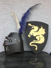 Ritter Helm und Schild für
