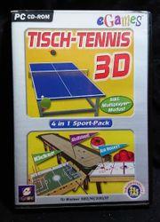 egames Tischtennis 3D Sportspack 4