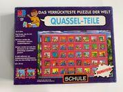 Puzzle Quassel-Teile Motiv Schule 120