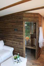 Sonnenverbrannte Bretter antik Holz Altholz