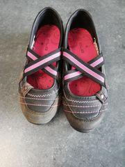 Ballerinas schwarz pink in Größe
