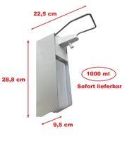 Manueller Seifenspender Aluminium Wandspender 1000