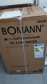NEU Gefrierschrank A Bomann GS