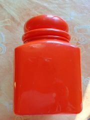 Vintage Haushaltsartikel Plastikdose Schale je