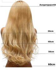 Blonde wunderschöne lange Extention zu