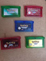 Pokemon Gameboy Advance Spiele