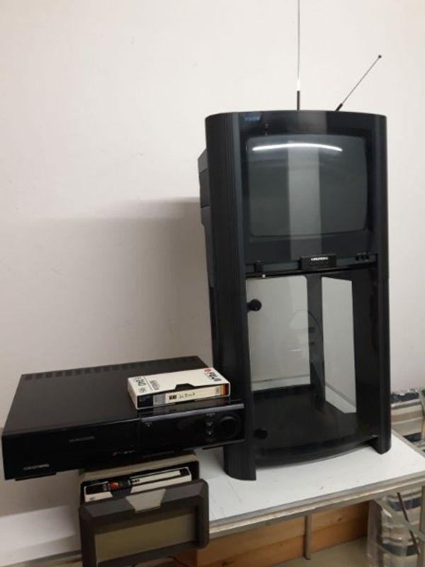 Grundig Steeler TV Rag VHS