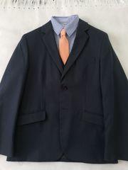 Blauer Anzug 3-teilig Gr 146