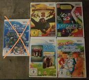 Nintendo Wii Spiele verschiedene
