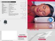 Toshiba TDP-P4 Mini DLP Beamer
