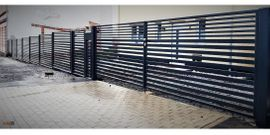 Dienstleistungen, Service gewerblich - Moderne Zaunanlage inkl Montage Geländer