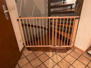 Geuther Treppenschutzgitter Schwenk- Türschutzgitter Holz
