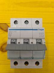HAGER Leitungsschutzschalter MBN313 3 polig