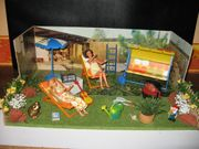 Original Karton Modella Gartenparty Gehäuse