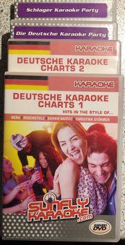 Karaoke Deutsch Schlager DVDs