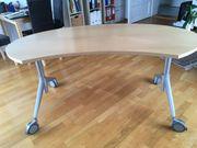 Design-Schreibtisch Wiesner Hager Ellipse