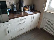 IKEA Küche mit Geräte weiß