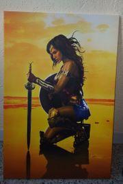 Wonderwoman Kunstdruck neu