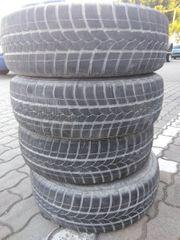 4 Winterreifen auf Stahlfelgen Opel Astra, Omega, Zafira, gebraucht gebraucht kaufen  Weißenburg