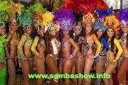 Brasilianische Sambatänzerin Sambashow für Ihre