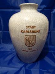 Karlsruher Majolika Fridegart Glatzle Vase