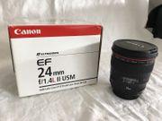 Canon EF 24 mm F1