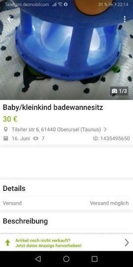 Bild 4 - Badewanne sitz für kleinkind - Lutherstadt Eisleben