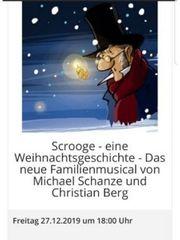 Scrooge Weihnachtsmusical Bensheim 1 Reihe -