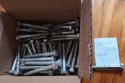 12x100 Schlüsselschraube verzinkt 1 Stück-Preis