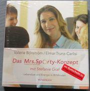 Buch Mrs Sporty-Konzept mit Stefanie