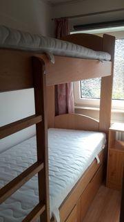Etagenbett Doppelstockbett Hochbett mit Schubladen