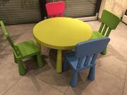 Kindermöbel Tisch Stuhlgarnitur
