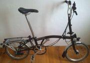 Brompton Faltrad M6RD schwarz
