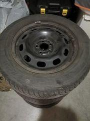 15 Zoll Stahlfelgen mit Michelin
